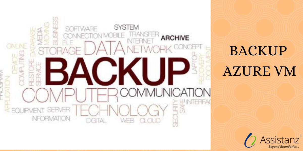 Steps to Backup Azure VM